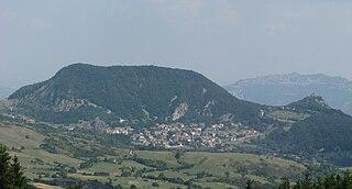Montecopiolo Comune in Marche, Italy