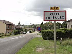 Ville-sur-Saulx (Meuse) city limit sign.jpg