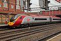 """Virgin Class 390, 390049 """"Virgin Express"""", platform 5, Crewe railway station (geograph 4524852).jpg"""