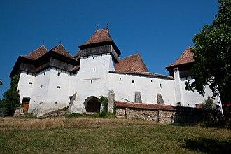 Viscri fortified church - Image: Viscri fortified church