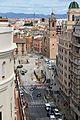 Vista cap a la plaça de la ciutat de Briges des de l'avinguda de l'Oest, València.JPG