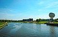 Vistula from South side of Grunwald bridge.jpg