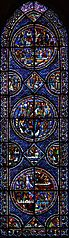 vitrail de Marie-Madeleine à Chartres