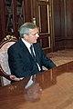 Vladimir Putin 21 September 2002-Jānis Jurkāns cropped.jpg