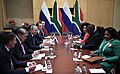 Vladimir Putin and Cyril Ramaphosa, 26 july 2018 (3).jpg