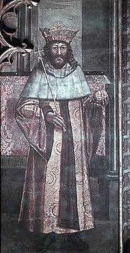 II. Ulászló ábrázolása a prágai Szent Vitus-székesegyházban (1509)