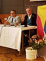 Vojtěch Merunka and Jan van Steenbergen at CISLa 2018.jpg