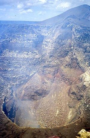 Masaya Volcano - Santiago crater.