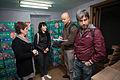 Volunteers receive hygiene kits in Stakhanov 31 (20921206445).jpg