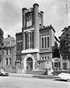 voorgevel van de voormalige synagoge aan gerard noodstraat te nijmegen - nijmegen - 20167814 - rce