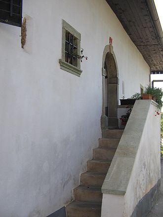Prešeren House - Image: Vrba vhod
