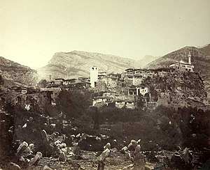 Bar, Montenegro - Bar (Antivari) in 1863.