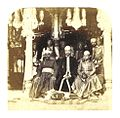 WELD 1862 in India pg238 (055 Group of Nobles of Hyderabad, Nawaub Salar Jung, his Nephew, and RajahNarrindhar).jpg