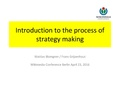 WMCON2016 Introduction to the process of strategy making.pdf