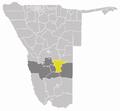 Wahlkreis Mariental Land in Hardap.png