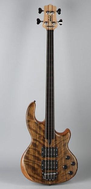 Wal (bass) - Wal Mk II Fretless Bass
