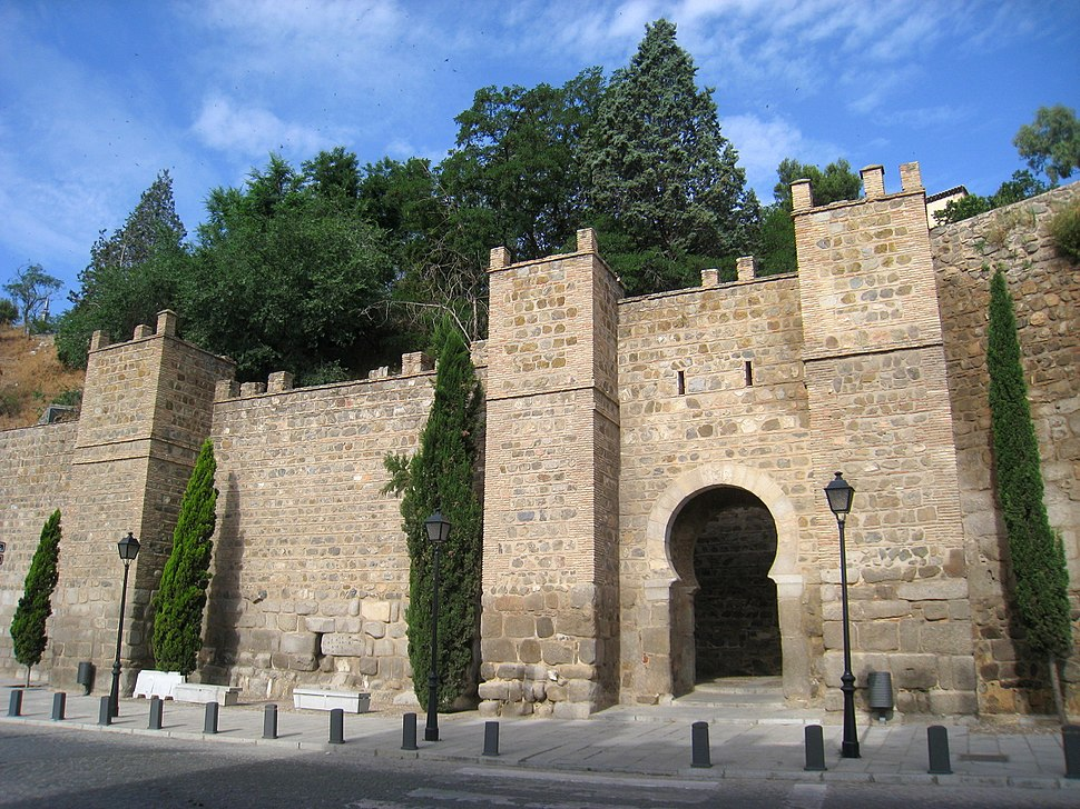 Wall near Puente de Alcantara, Toledo
