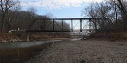 Waltmire Bridge (Mackinaw River) from NW 1.jpg