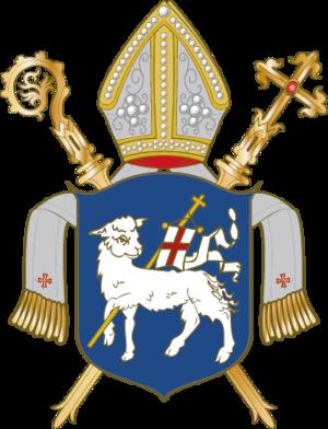 Prince-Bishopric of Warmia - Image: Wappen Bistum Ermland