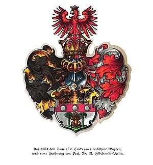 Adrian von Enkevort - Enkevort's coat of arms.