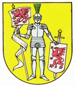 Gartz - Image: Wappen von Gartz Oder