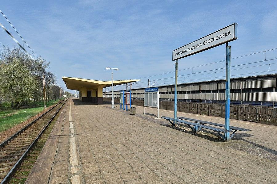 Warszawa Olszynka Grochowska railway station