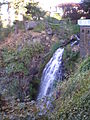 Waterfall at Columbia Gorge Hotel (2011).jpg