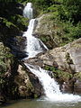 Waterfall located in Langtang National Park.JPG