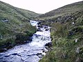 Waterfalls, Great Gill - geograph.org.uk - 291981.jpg