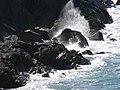 Waves breaking just off Fenella beach - geograph.org.uk - 777308.jpg