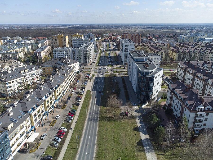 Wąwozowa Street, Warsaw