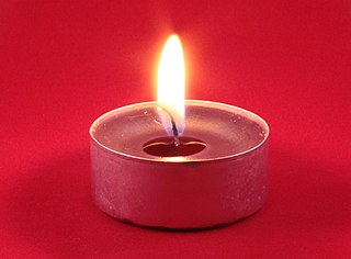 Tealight Type of candle
