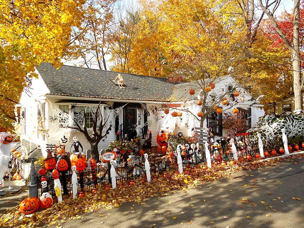 Weatherly PA Halloween house