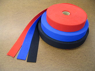 Webbing - 2 inch (50 mm) Nylon webbing as used in auto racing harnesses
