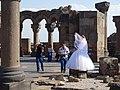 Wedding Photo Shoot at Zvartnots Cathedral - Near Yerevan - Armenia (18370539403).jpg