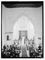 Wedding ceremony in church, Dawkins Anderson wedding LOC matpc.14092.jpg