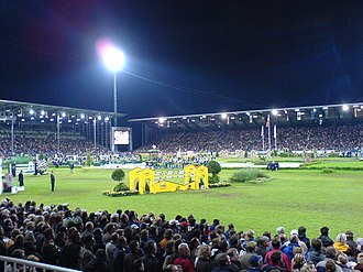 Show Jumping World Championships - The Show Jumping competition at the 2006 WEG in Aachen