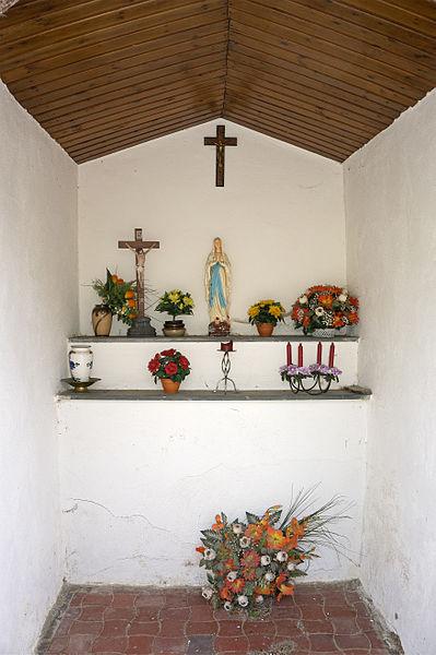 Wayside chapel in Wolwelange, rue de l'église