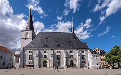 Weimar Herderplatz Stadtkirche Herderdenkmal 2