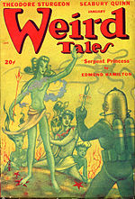 Weird Tales cover image for January 1948
