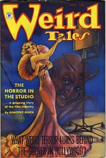 Weird Tales cover image for June 1935