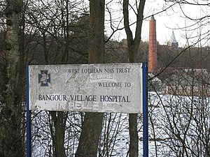 Bangour Village Hospital - Image: Welcome to Bangour Village Hospital geograph.org.uk 1735271