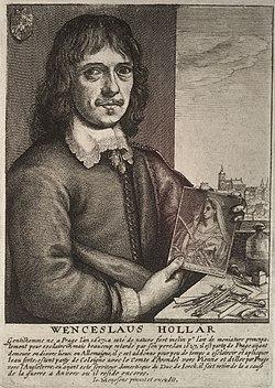 Wenceslas Hollar - Wenceslaus Hollar (State 2).jpg