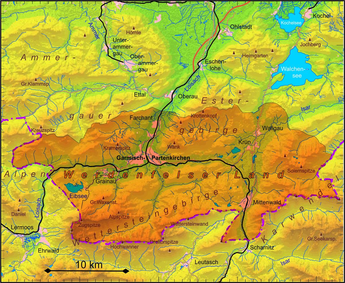 Werdenfelser Land Wikipedia