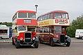 Westcliff On Sea bus 825 (AJN 825) & Sunderland Corporation bus 13 (GR 9007), 2011 Clacton Bus Rally (1).jpg