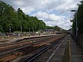 Weybridge station look east.JPG