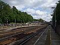 Weybridge station look east.JPG
