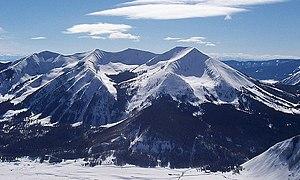 Whetstone Mountain - Image: Whetstone Mountain, CO