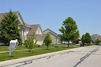 Sylvania Township, Lucas County, Ohio - Housing development west of the city of Sylvania