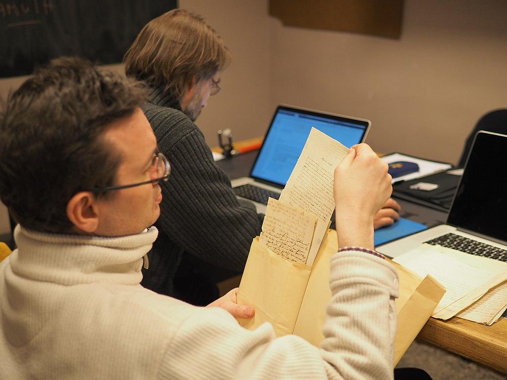 Programme WikiTopia Archives, numérisation et analyse de lettres du 19e siècle
